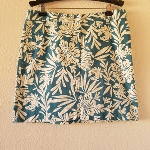 Ann Taylor factory Hawaiian print skirt sz 14